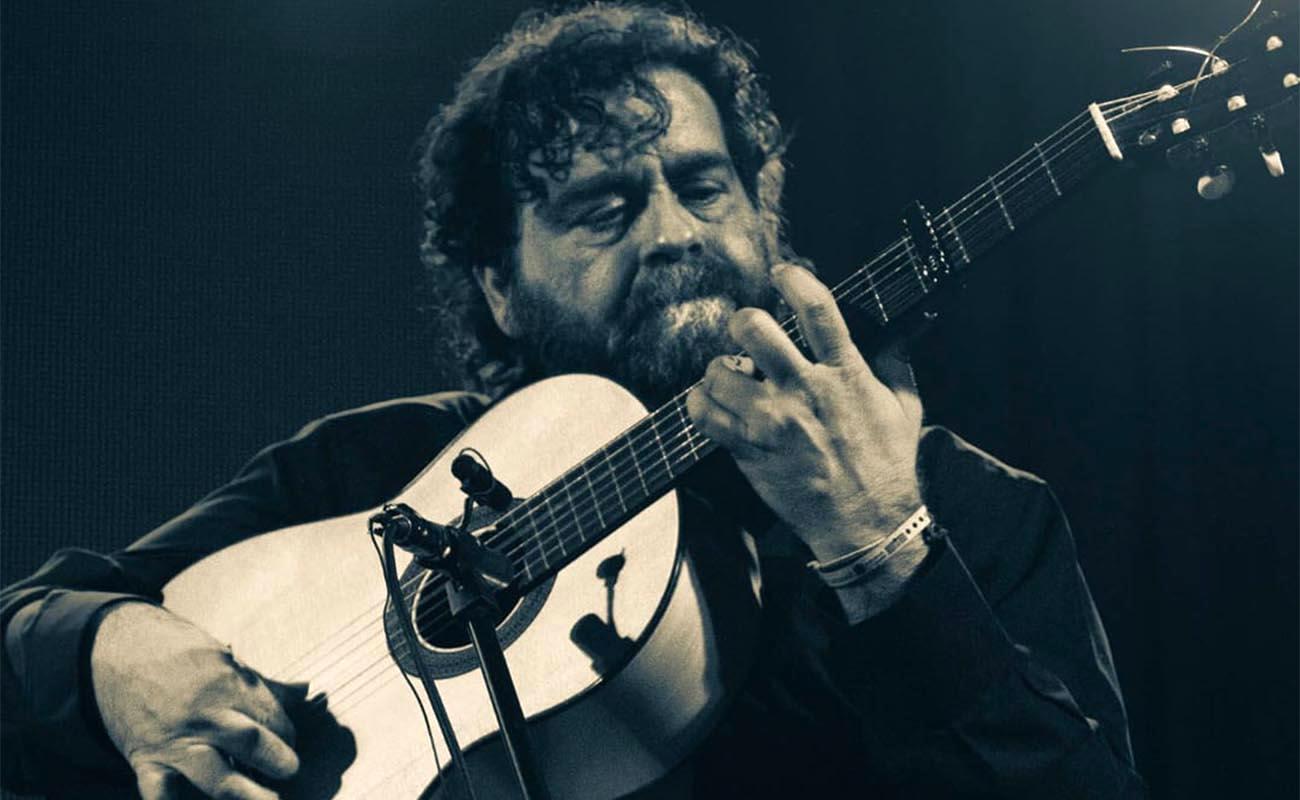El guitarrista Antonio Moya. Foto: Juan Luis Monge