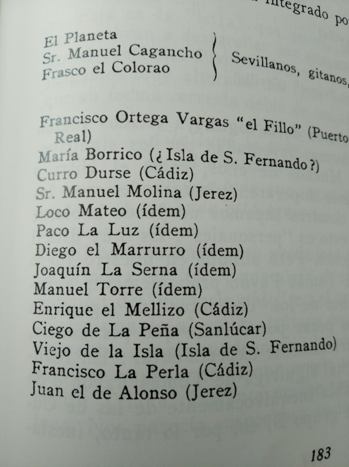 En Mundo y formas del cante flamenco, Ricardo Molina y Mairena se referían a Diego el Marrurro.