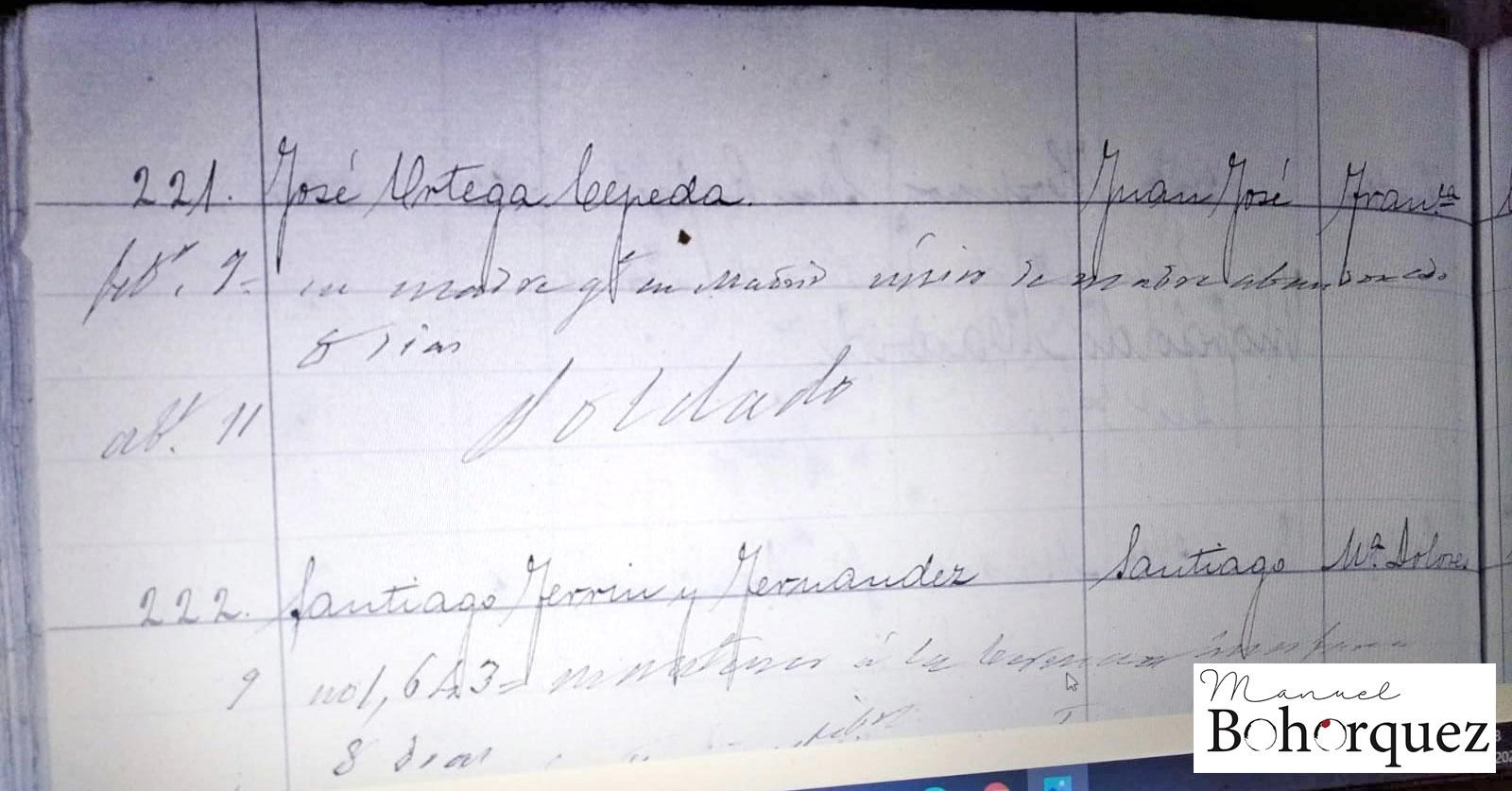 Quinta del Caoba, 1881. Archivo Manuel Bohórquez.