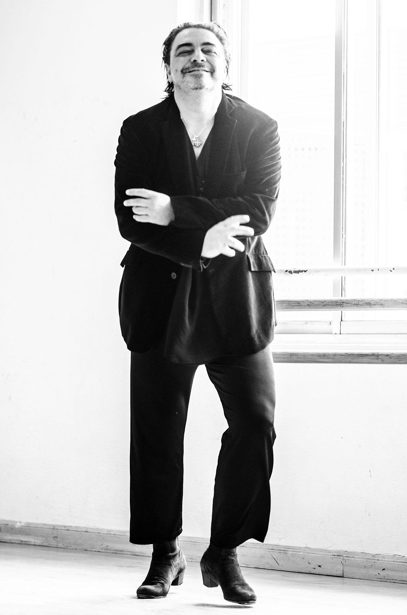 Antonio Canales. Foto: Beatrix Molnar