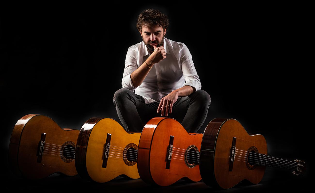 El guitarrista sevillano Dani de Morón. Foto: José Ángel Vidal