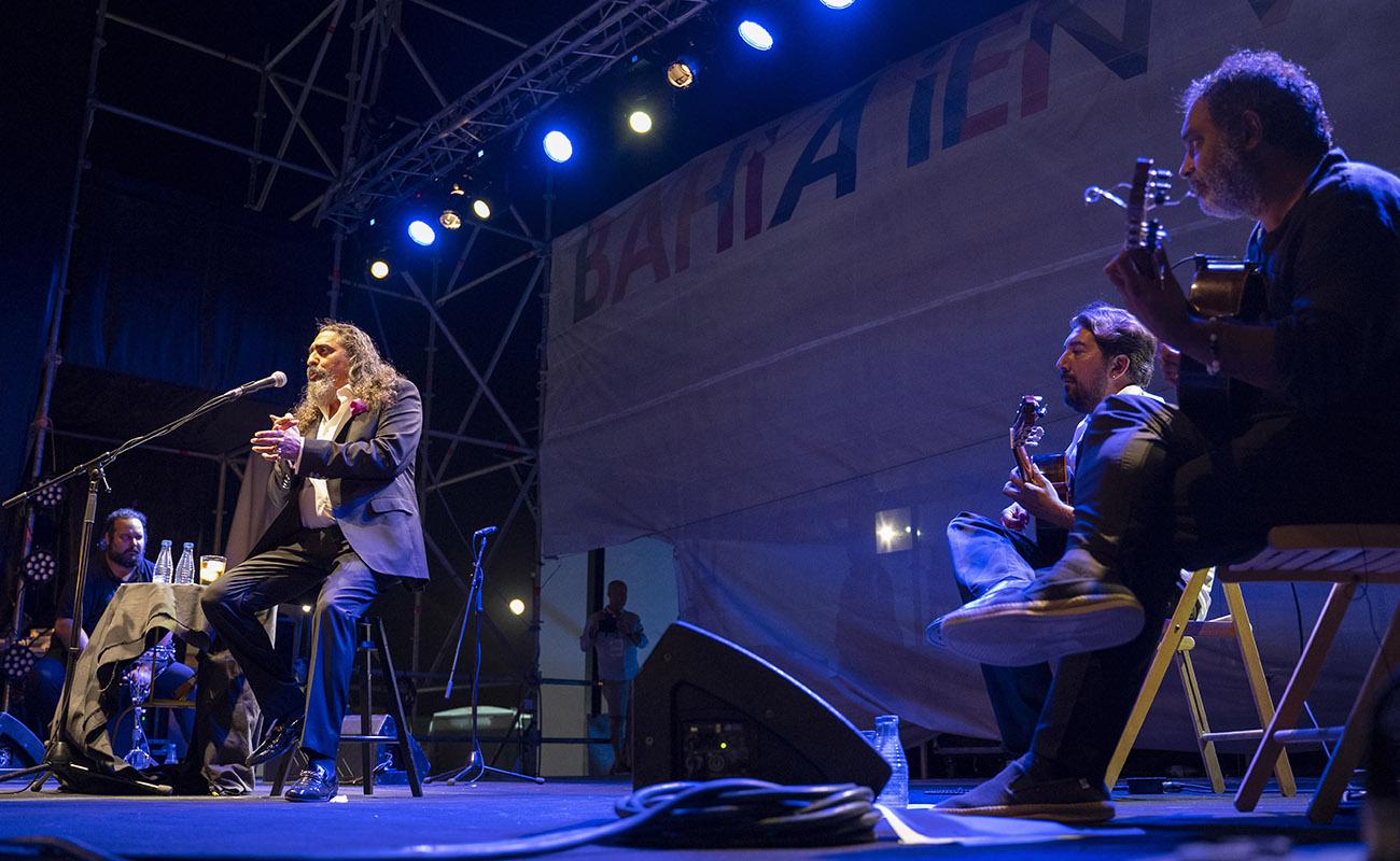 Actuación de Diego el Cigala en San Fernando, Cádiz. Foto: Ayuntamiento de San Fernando