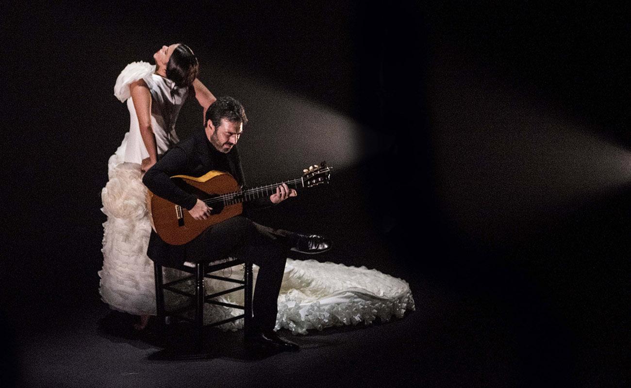 'More (No) More', de la bailaora gaditana María Moreno. Teatro Central de Sevilla, Bienal de Flamenco. Foto: Claudia Ruiz Caro