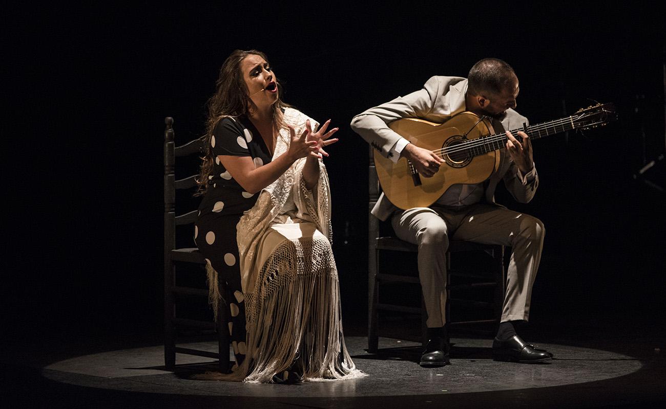 María Terremoto, en el Teatro Lope de Vega de Sevilla. Foto: Claudia Ruiz Caro - Bienal de Sevilla