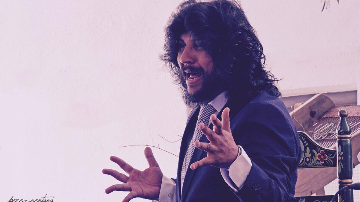 El cantaor Rancapino Chico