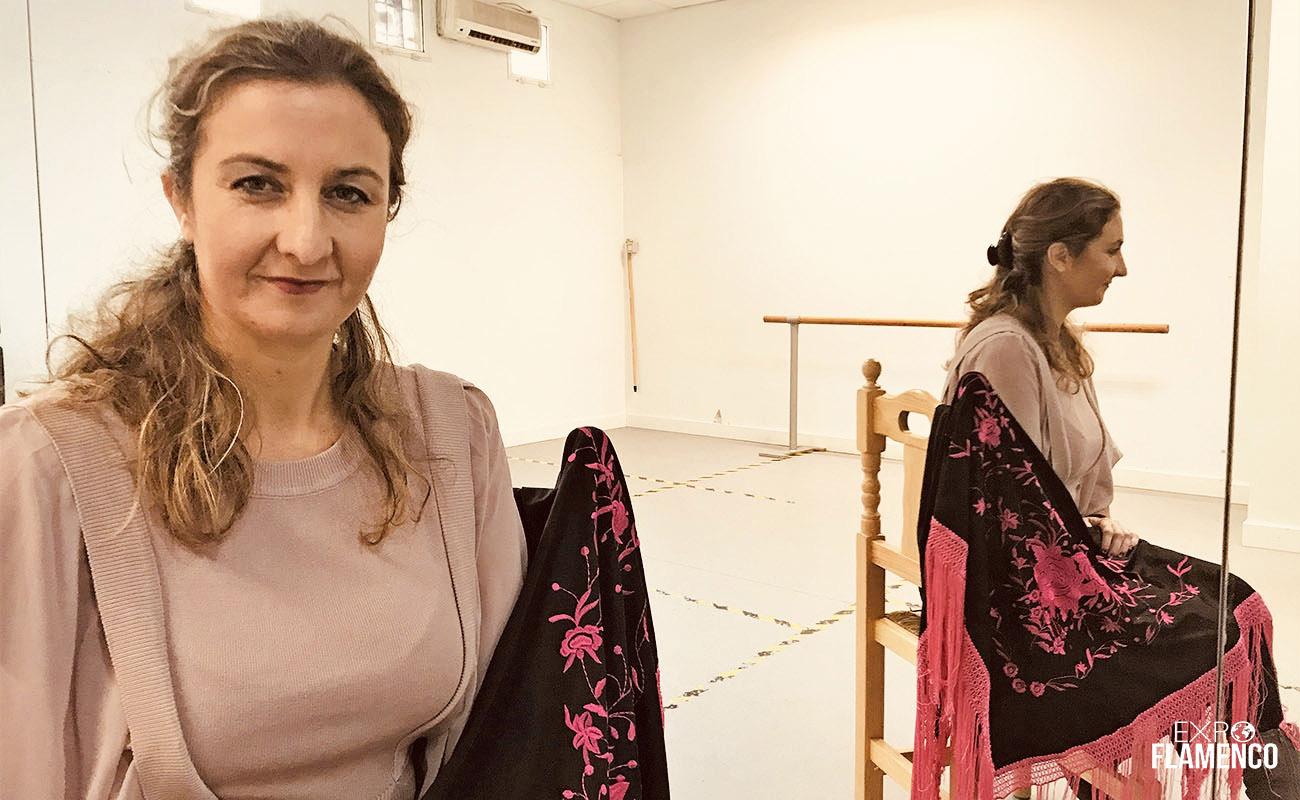 Bailaora María José Franco - AsociaciónProfesional deEscuelas de Flamenco de Jerez