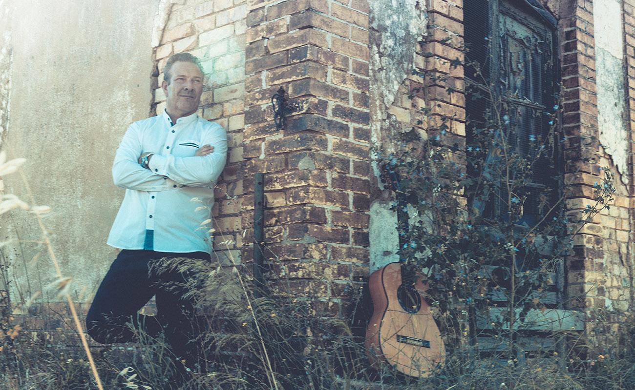 El guitarrista Gaspar de Holanda. Foto: Diego Encinas